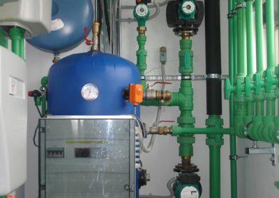 Αντλία θερμότητας CARRIER με σύστημα nexa ενδοδαπέδια