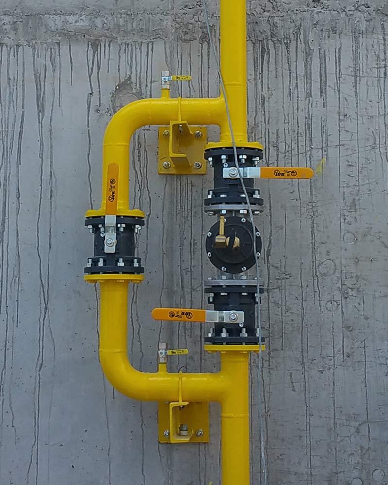 Εγκατάσταση & Μελέτη Φυσικού Αερίου