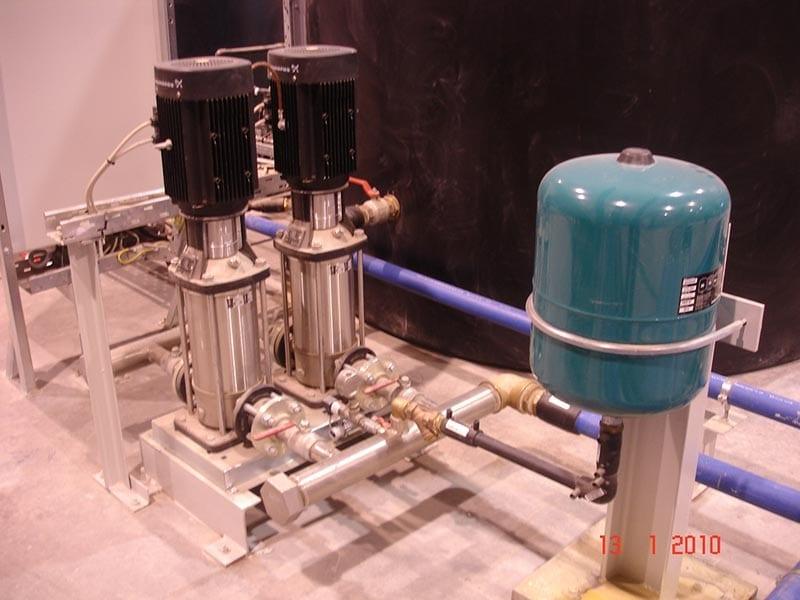 Επεξεργασία Νερού Βιομηχανικών Δικτύων