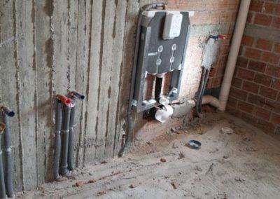 Σωληνώσεις υδραυλικών - Εντοιχισμένο καζανάκι