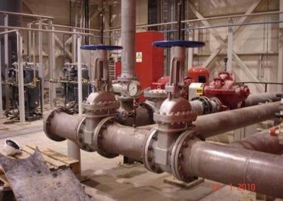 Βιομηχανικά δίκτυα πυρόσβεσης