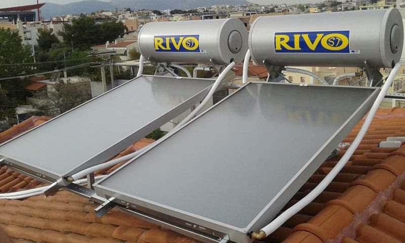Ηλιακοί Συλλέκτες με Κεντρικό Boiler